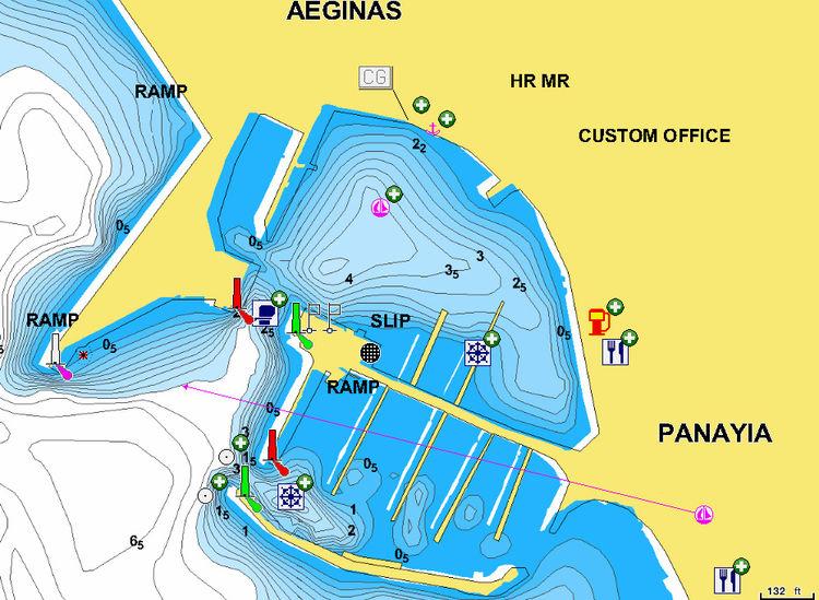 Port I Yahtennaya Marina Egina