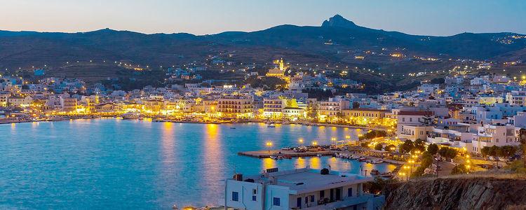 картинка фотография курорта Тинос, остров в Греции
