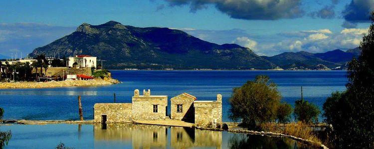 Греция островок