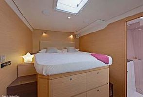 Amidships queen guest suite