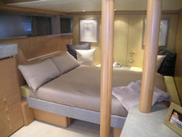 Twin Stateroom Converted to Queen