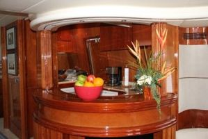 View of Galley from salon