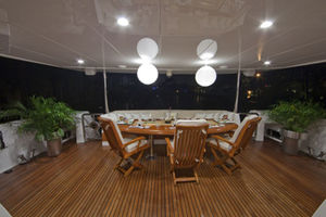 Aft Deck Evening
