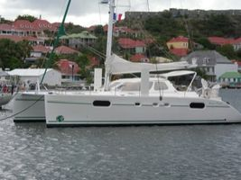 Anchored in Gustavia Harbour, St. Barths