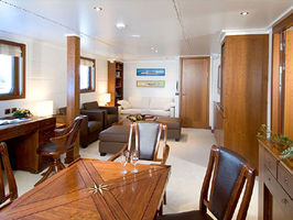 Private lounge adjoining the Owners Suite