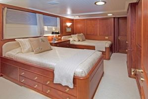 Twin Guest Stateroom with Trundle, can convert to a King