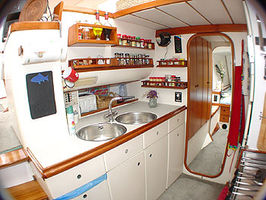 Galley (Kitchen) area