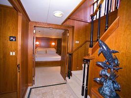 Foyer below decks