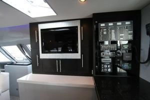 Nav Station and Salon flat screen