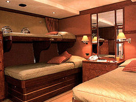 Guest Cabin (Twin bed with pullman)