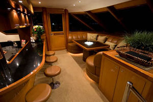 Bar + Lounge, forward on the Main Deck