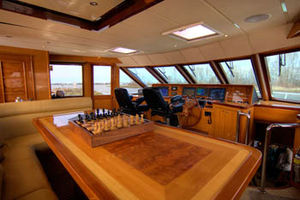 Pilothouse on the Upper Deck